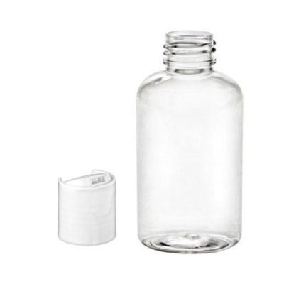 100ml Storage Bottles with flip disc lids - Pack of 10