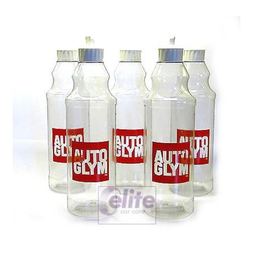 Autoglym 500ml Bottle & Flip Top Lid - Pack of Five