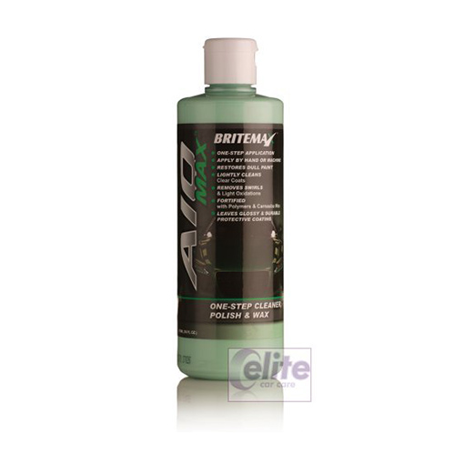 Britemax AIO Max One Step cleaner, polish & Wax 236ml 8oz Sample