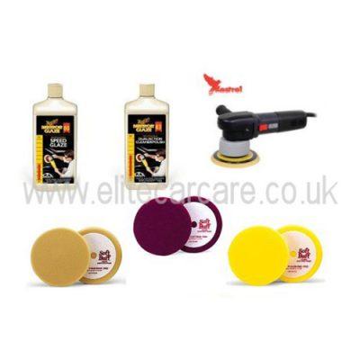 Kestrel DAS-6 - Meguiars Polishing Kit - EU Two Pin Plug