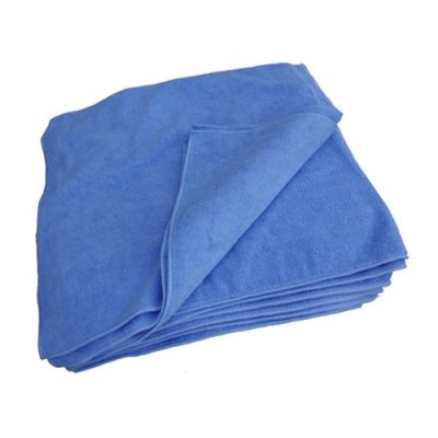 Blue Microfibre Cloths - Multi Purpose - Pack of 10