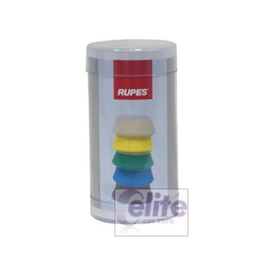 Rupes 40mm Green Medium Foam Cutting Spot Pad (Pack of 6)