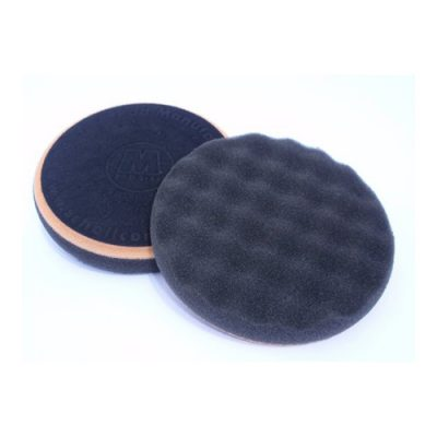 Scholl Concepts Black Softouch Waffle Finishing Pad 145mm