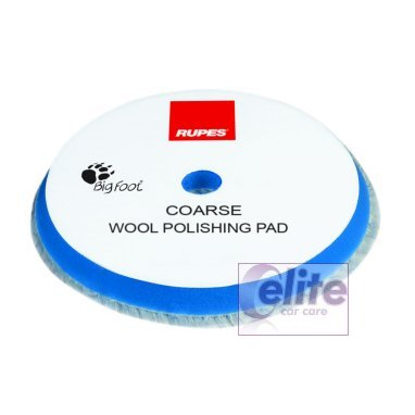 Rupes 100mm Blue Coarse Wool Polishing Pad 9.BW100H