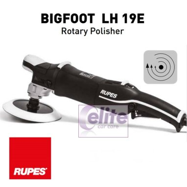 Rupes Bigfoot LH19E Rotary Polisher DELUXE Kit