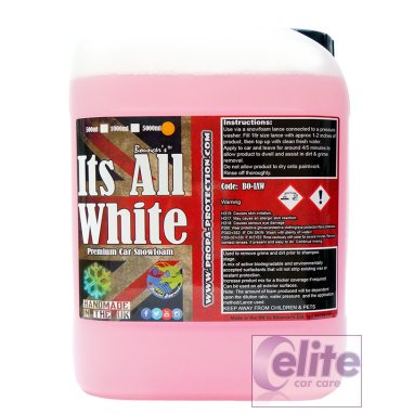 Bouncers Its All White Active ph Neutral Snow Foam 5 Litre