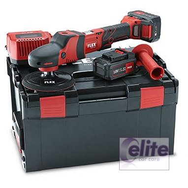 Flex PE 150 18V Cordless Rotary Professional Polisher Kit