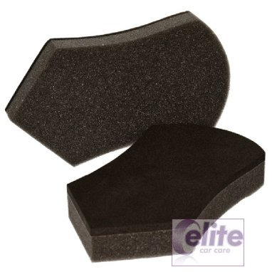 Elite Handi Grip Foam Polish & Dressing Applicator