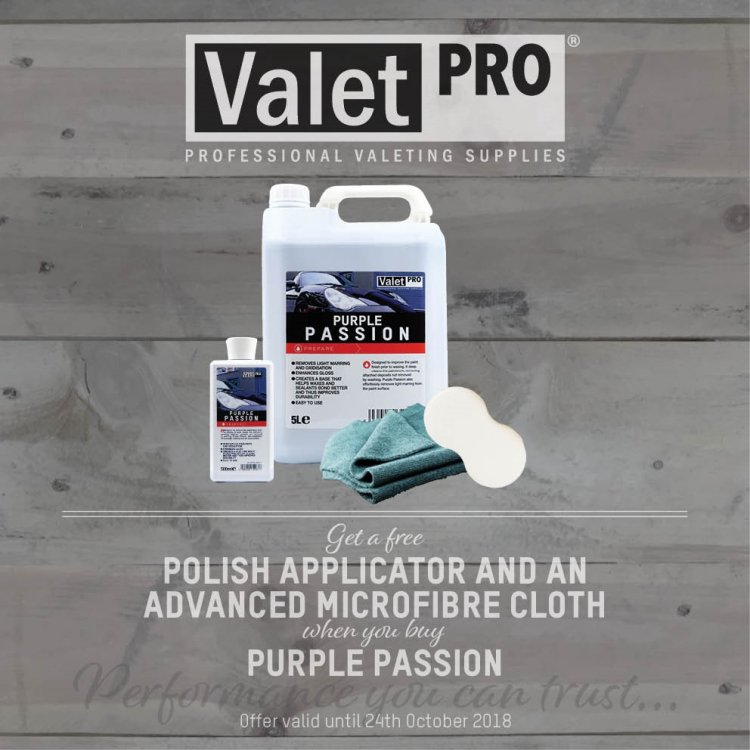 ValetPRO Purple Passion Special Offer