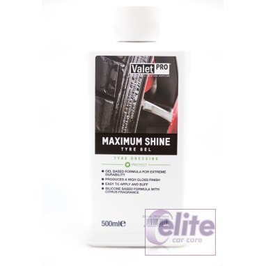 ValetPRO Maximum Shine Tyre Dressing 500ml