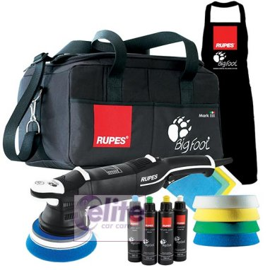 Rupes Bigfoot LHR15 Mark III Random Orbital Polisher DLX Kit