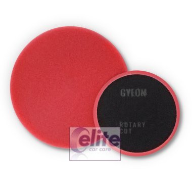 Gyeon Q2M Rotary Red Cutting Pads