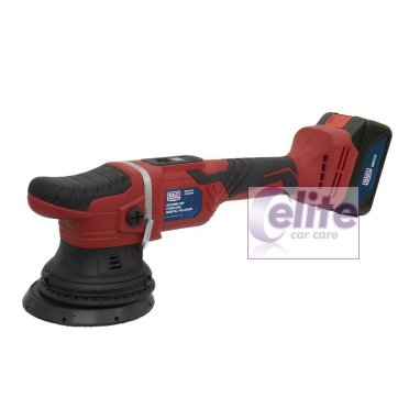 Sealey 125mm 18v Cordless Dual Action Polisher