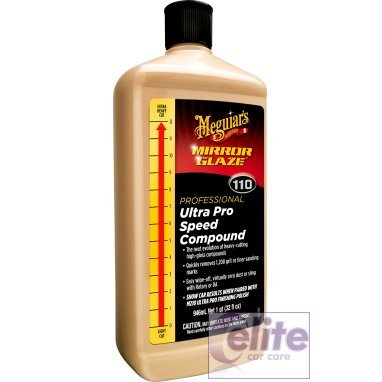 Meguiars Mirror Glaze M110 Ultra Pro Speed Compound 946ml 32oz