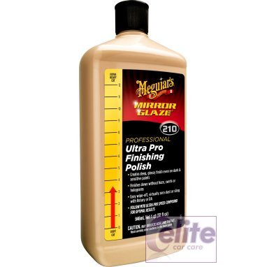 Meguiars Mirror Glaze M210 Ultra Pro Finishing Polish 946ml 32oz