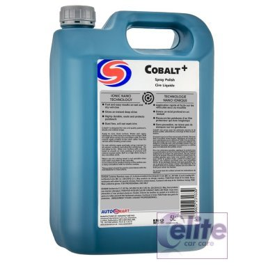 Autosmart Cobalt Nano Spray Polish & Sealant 5 Litre