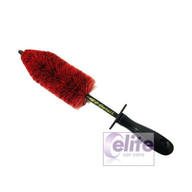 EZ Detail RED MINI Brush - For Cars and Bikes