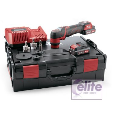 FLEX PXE 80 Cordless Nano Polisher 10.8-EC/2.5 SET