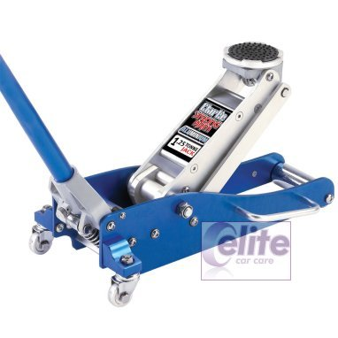 Clarke 1.25 Ton Aluminium Low Entry Quick Lift Trolley Jack