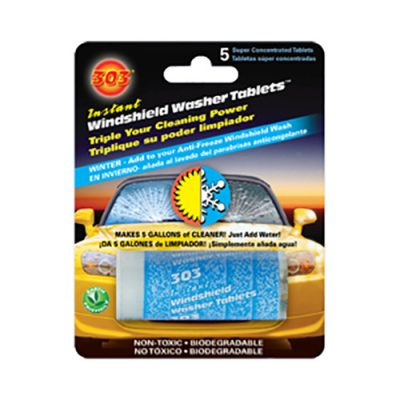 303 Super Concentrated Windshield Washer Tablets