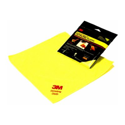 3M Plush Microfibre Detailing Cloth - Single Pack