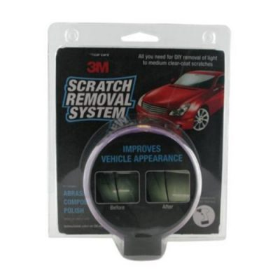 3M Scratch Removal System Kit - Improves Vehicle Appearance