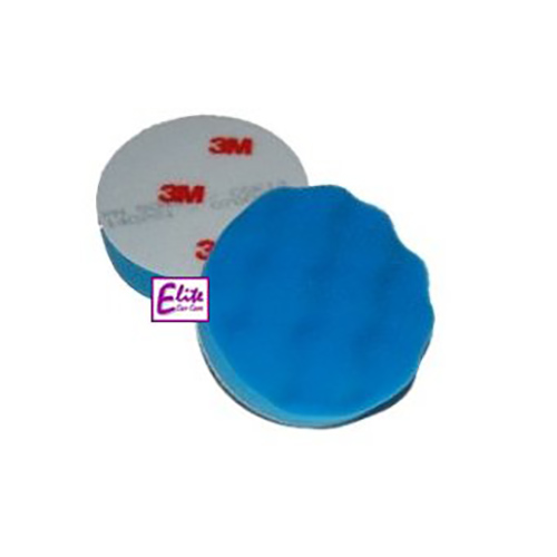 3M Perfect-it III High Gloss Polishing Spot Pad Blue 75mm