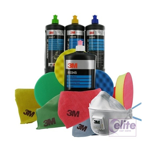 3m perfect it iii compounding polishing and finishing kit elite car care. Black Bedroom Furniture Sets. Home Design Ideas