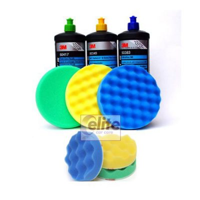 3M Perfect-it III Triple Polish & Compound Set 150 & 80mm Pads
