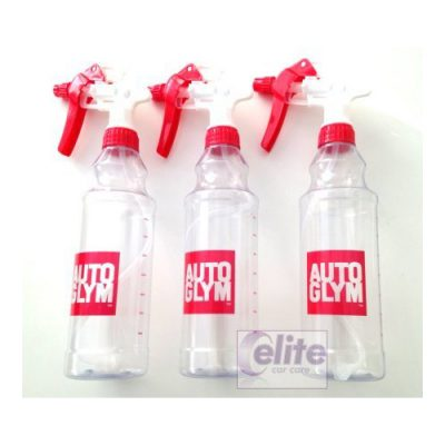 Autoglym 500ml Bottle & Spray Head - Pack of three