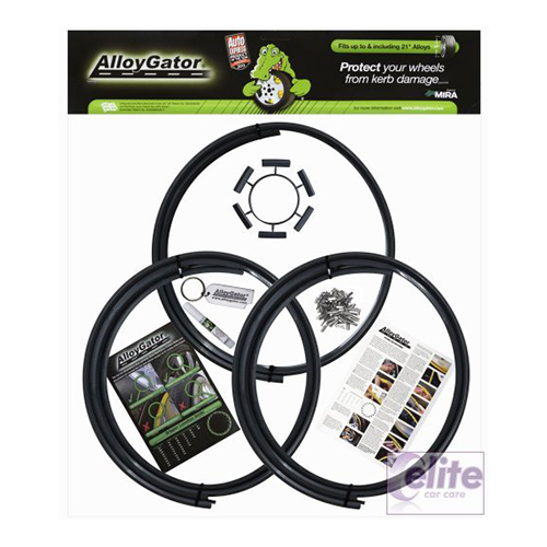 Alloygator - Protection for Alloy Wheels upto 21 Inch (Set of 4)