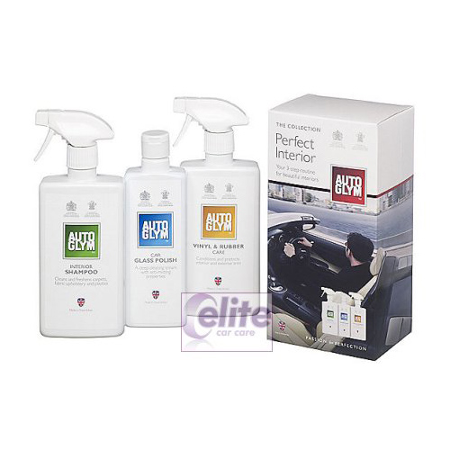 autoglym the collection perfect interior kit elite car care. Black Bedroom Furniture Sets. Home Design Ideas