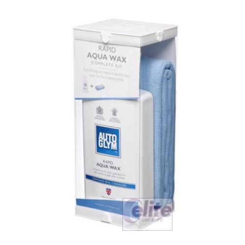 Autoglym Rapid Aqua Wax Complete Kit