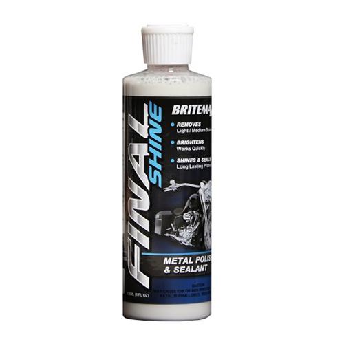 Britemax FINAL SHINE - Metal Polish & Sealant 236ml - 8oz