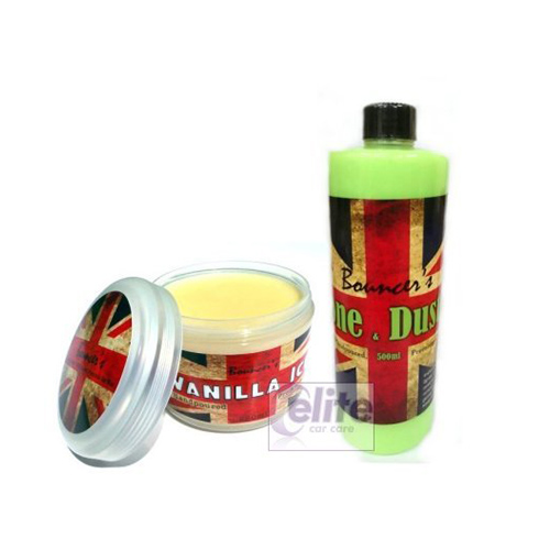 Bouncer's Vanilla Ice Premium Wax & Quick Detailer Kit - 250