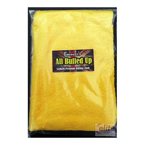 Bouncer's All Buffed Up 550GSM Luxury Buffing Towel