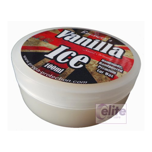 Bouncer's Vanilla Ice Premium Car Wax - New 100ml
