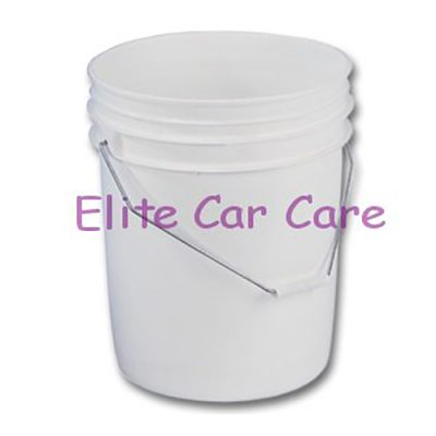 White 20 Litre Wash Bucket