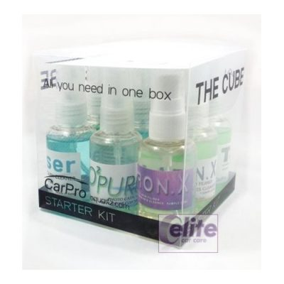 CarPro THE CUBE Sample Kit - All You Need In One Box