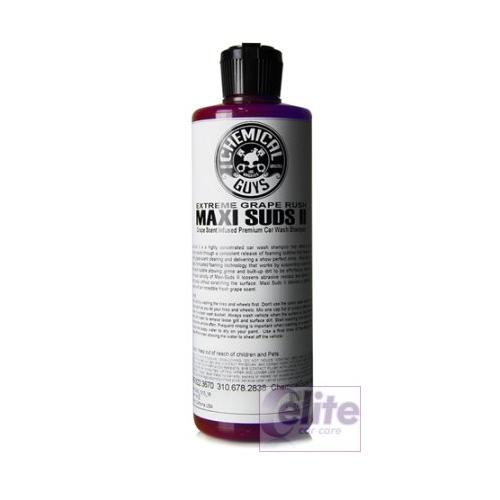 chemical guys maxi suds ii extreme grape rush shampoo. Black Bedroom Furniture Sets. Home Design Ideas