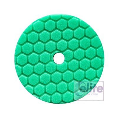 Chemical Guys HEX-LOGIC QUANTUM Green Heavy Polishing Pad 5.5in
