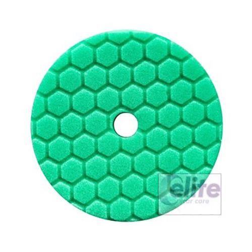 Chemical Guys HEX-LOGIC QUANTUM Green Heavy Polishing Pad 5.5in