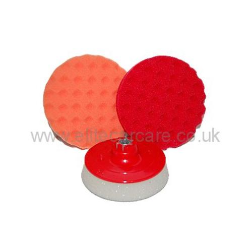 """Elite Coolfoam 6"""" Rotary Pad Kit"""