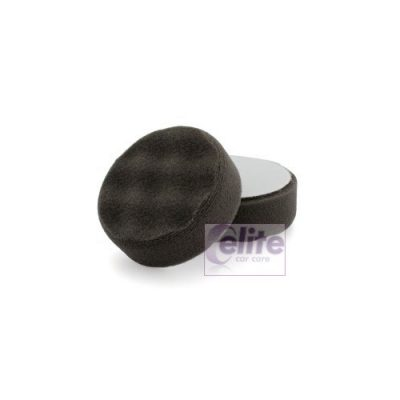 Elite 80mm High Gloss Black Finishing Waffle Spot Pad
