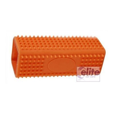 Elite Orange Tubular Pet Hair Removal Brush