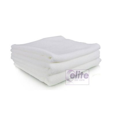 White Microfibre Cloths - Multi Purpose - Pack of 10