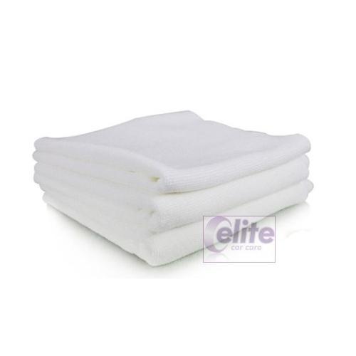 White Microfibre Cloths - Multi Purpose - Pack of 10