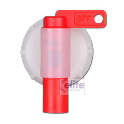Jerrycan Plastic Tap 51mm neck for 5 and 10 litre bottles