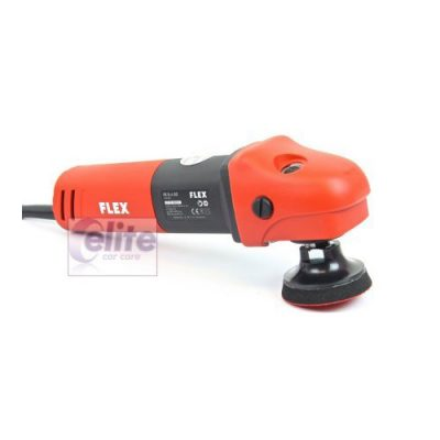 FLEX PE 8-4 80 Mini Rotary Polisher with FREE 75mm Backing Plate
