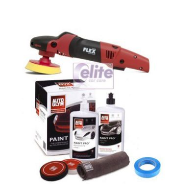 FLEX PE14-2 150 Rotary Polisher Autoglym Paint Pro Kit